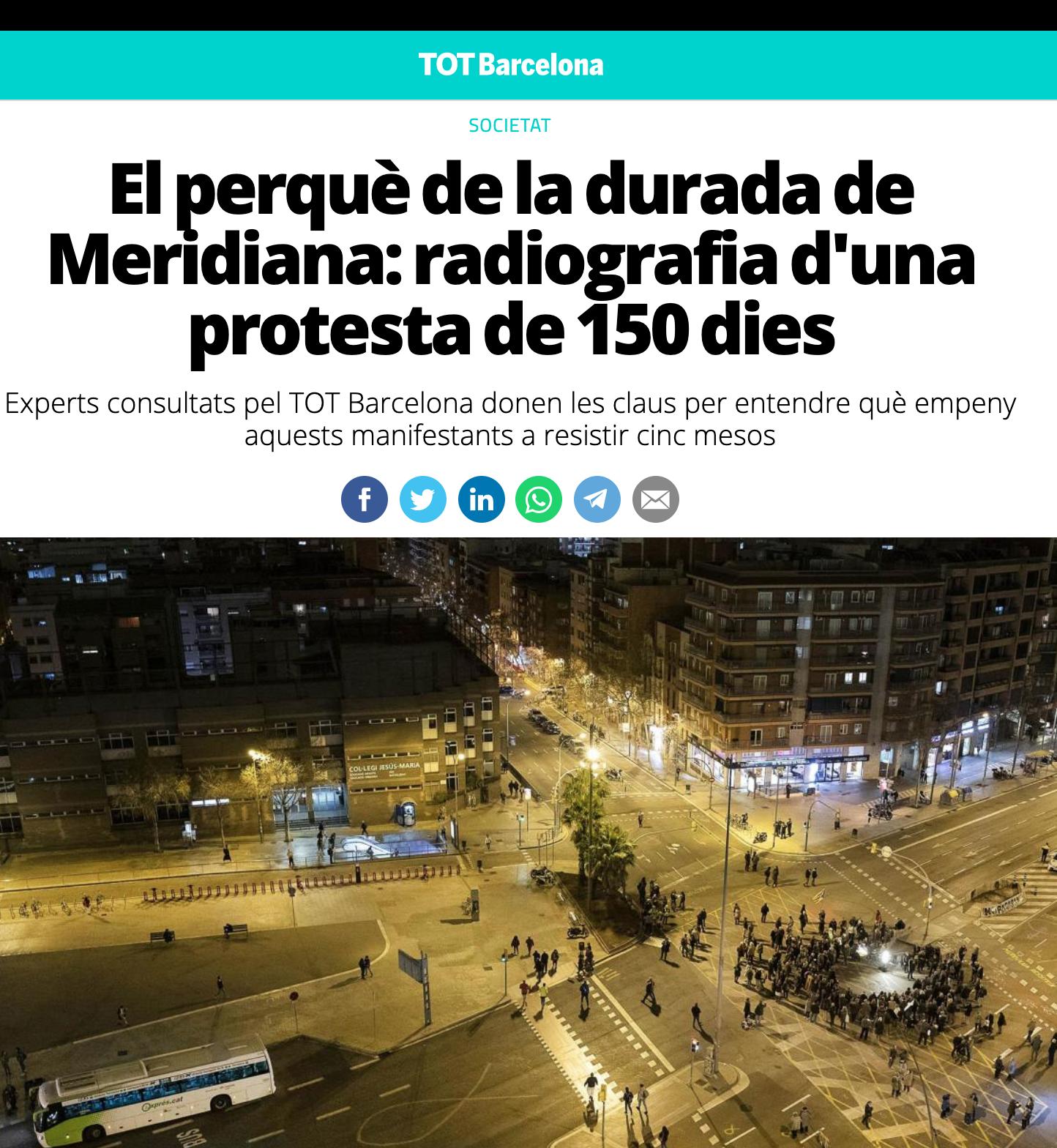 El perquè de la durada de Meridiana: radiografia d'una protesta de 150 dies